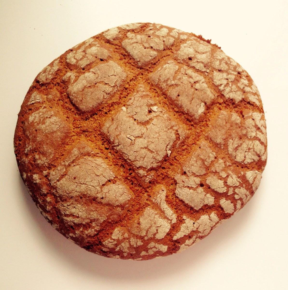 Pan rústico de Espelta y Centeno