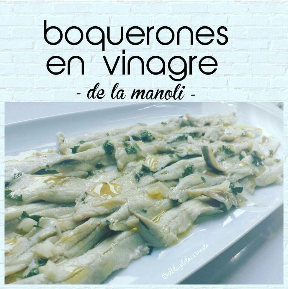Hoy cocinas tu boquerones en vinagre de la manoli - Boquerones en vinagre duros ...