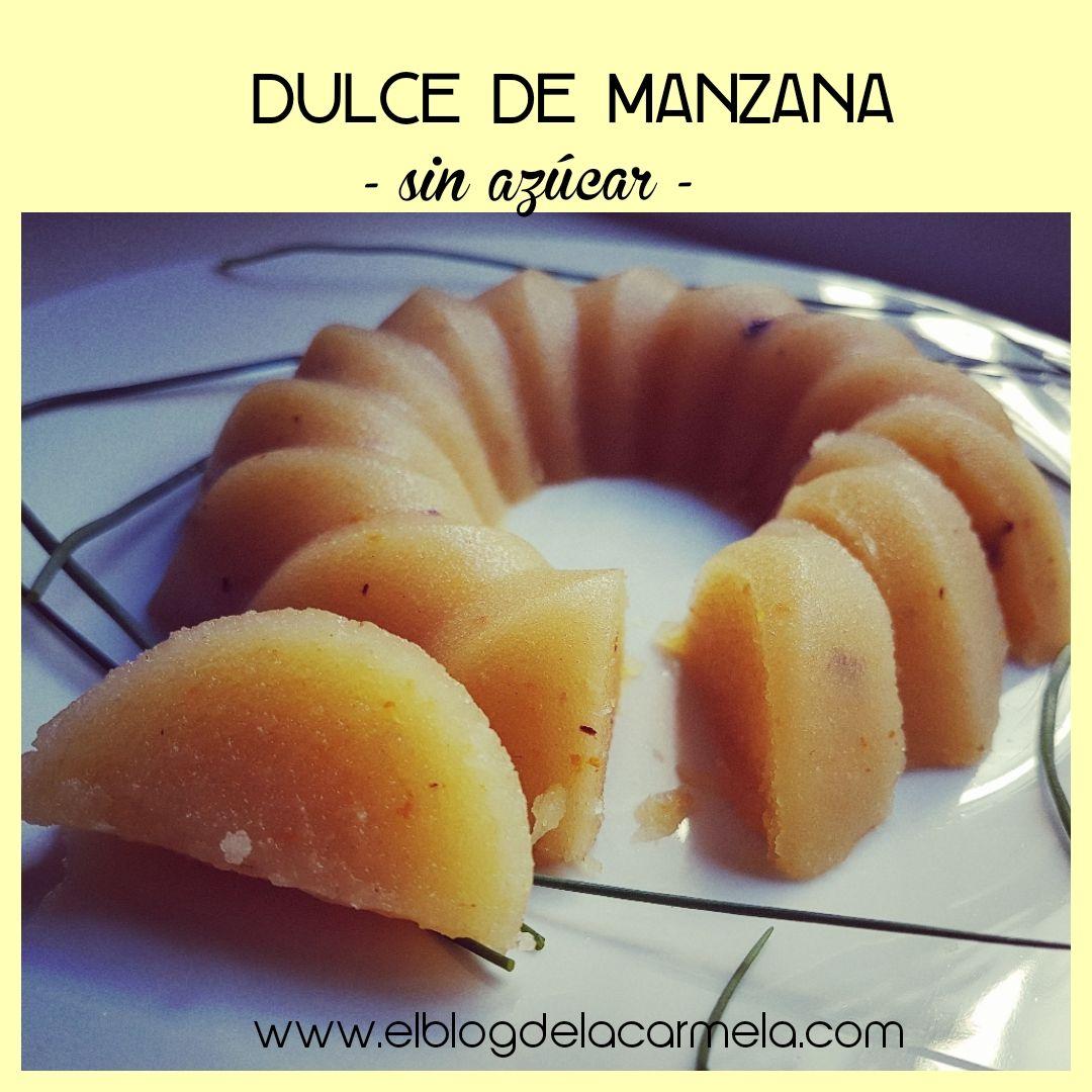 Dulce de manzanas sin azúcar- la versión saludable del dulce de membrillo!