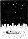 Cabezudo mira estrellas