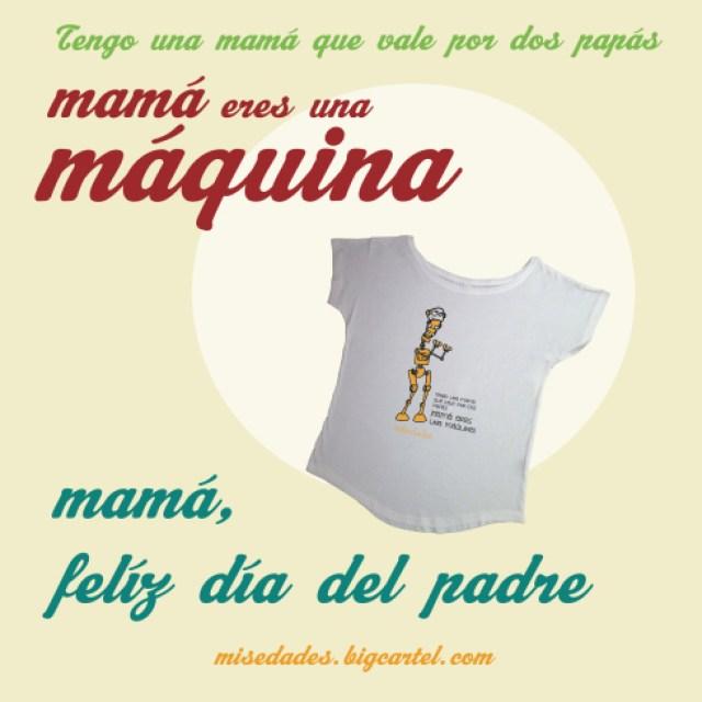 MAMÁ, FELIZ DÍA DEL PADRE