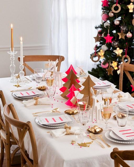 DECO | Ideas para decorar la mesa en Navidad