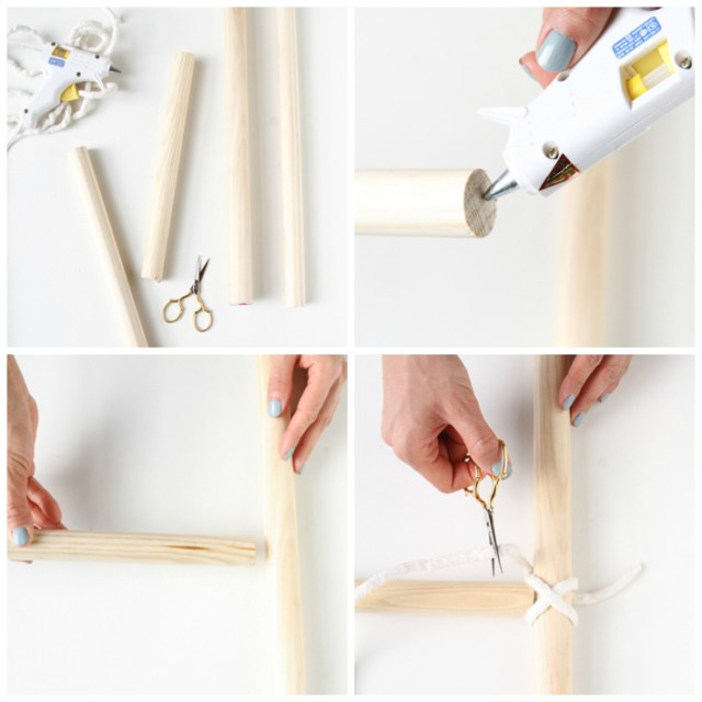DIY-hacer-escalera-decorativa-mantas