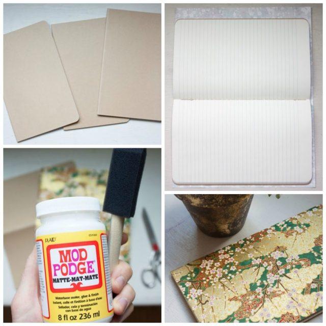DIY | Cesta y libreta nueva con papeles de scrapbooking