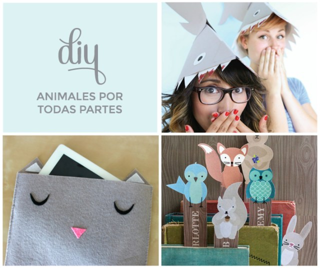 DIY | Animales por todas partes