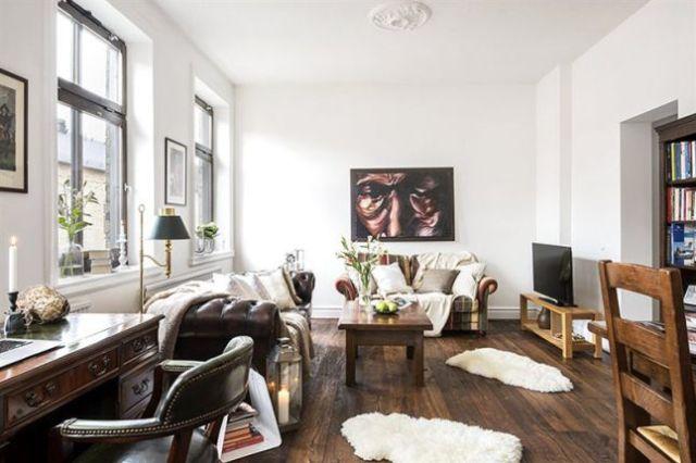 DECO | Decoración clásica en madera y blanco que enamora