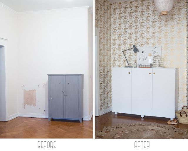DECO | El antes y después de un recibidor