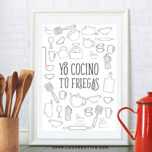 LA CHACHITIENDA | Dos nuevas láminas infantiles y una para tu cocina