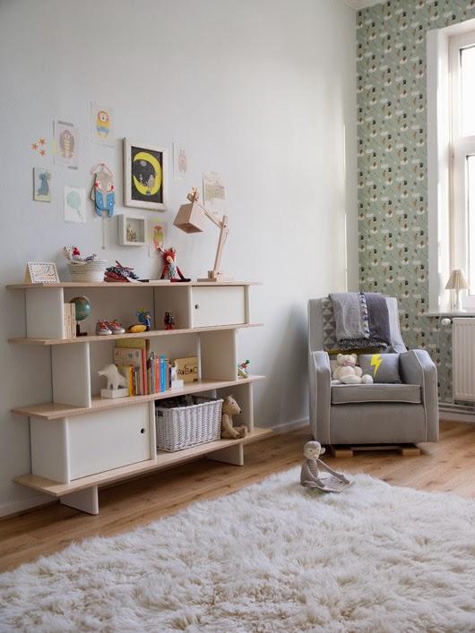 DECO | Antes y después: Una bonita habitación para un bebé de estilo nórdico