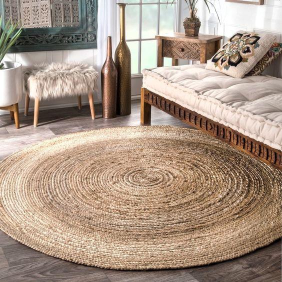 Diy hazte tu alfombra de yute por 4 duros el blog de - Alfombras de yute ...