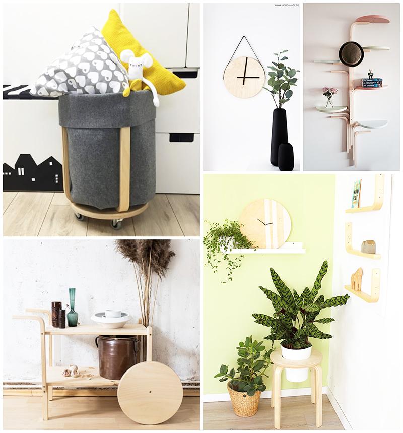 Ikea hack | 6 DIY con el tabuerete frosta de Ikea -tutoriales