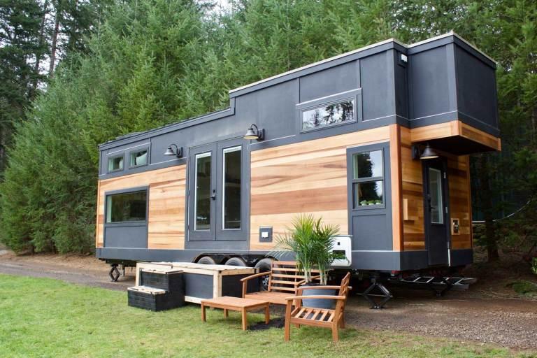 DECO | Una mini casa sobre ruedas de 27m2 - El blog de Laucreativa