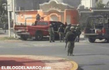 Tres sicarios muertos deja enfrentamiento con militares en Los Guerra de Miguel Alemán, Tamaulipas