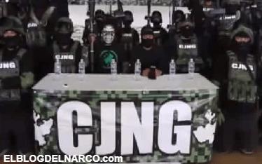 """""""El Mencho"""" anuncia llegada del CJNG a Guanajuato con un vídeo comunicado"""