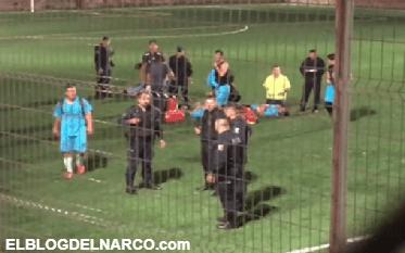 Balean a futbolistas llaneros durante un partido en Guadalajara; hay 4 heridos