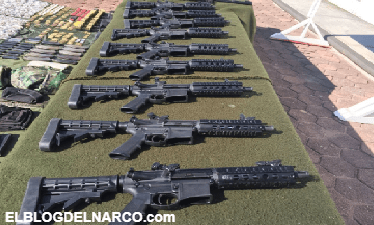 Decomisan armamento, droga y equipo táctico en municipio Zacatecano.