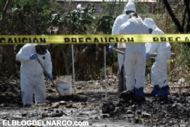 Encuentran una tercera narcofosa de la semana en Jalisco.