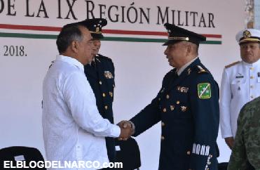 General señalado por nexos con los Beltrán Leyva asume mando del Ejército en Guerrero.