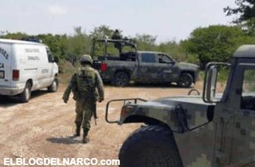 Hallan militares cuerpo de mujer en narco-fosa clandestina
