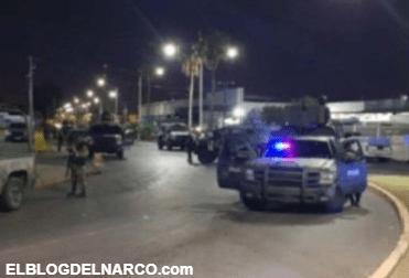 Hombres en estado de ebriedad son baleados por el Ejército, al rebasar convoy Militar en Nuevo Laredo.