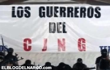 La mancha expansiva del CJNG en México