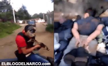 Los Viagras se graban levantando gente y aterrorizando los pueblos en Michoacán (VÍDEO)