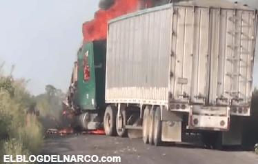 Se enfrentan los del CJNG contra militares y policías en limites de Jalisco y Guanajuato (VÍDEOS)