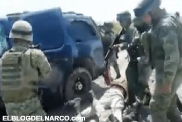 Soldados difunden vídeo de un enfrentamiento contra Sicarios