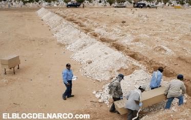 Autoridades de estado Fronterizo encuentran restos de más en Narcofosas Comunes