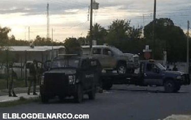 Cuatros sicarios abatidos por Sedena, decomisan tres camionetas abandonadas