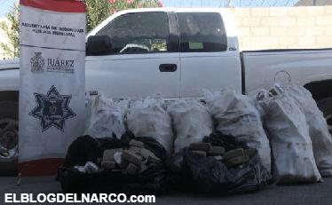 Decomisan más de un millón de pesos de droga al 'cartel de sinaloa'