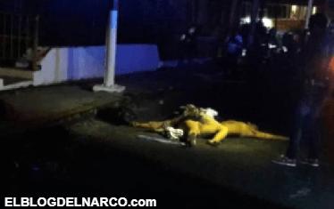 Dejan una mujer y un hombre degollados y a otro más desmembrado en la Vicente Guerrero