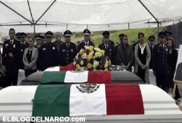 Despiden a policías emboscados en Chihuahua