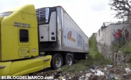 Difunden imágenes de los 157 cadáveres apilados en tráiler de Jalisco