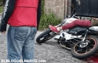 Ejecutan a balazos a un motociclista, en Taxco