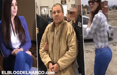 El Chapo Guzmán ignora al juez… sólo tiene ojos para Emma Coronel