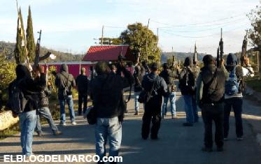Grupos de autodefensa mantienen bajo resguardo sus comunidades en la Sierra de Guerrero