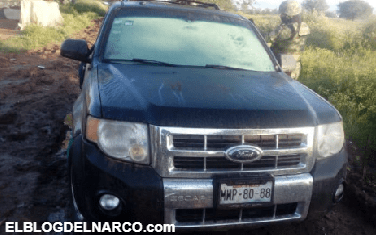 Hallan 4 cadáveres maniatados dentro de camioneta en Irapuato