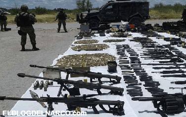 Las armas de Estados Unidos entran a México por Tamaulipas