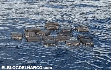 Narcos arrojan más de media tonelada de cocaína al mar y se dan a la fuga