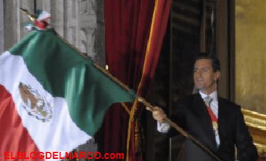 """Se acabaron los abucheos y las rechiflas de cinco años, """"¡Vete, Peña Nieto!"""", fue el grito popular"""