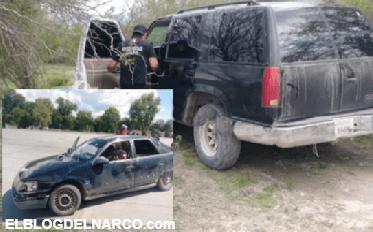 Ubican camioneta de sicarios que ejecutaron a hombre frente a sus hijos en Tamaulipas