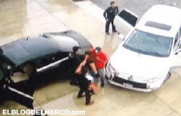 Vídeo donde supuestos ministeriales levantan a una mujer en Tepic, Nayarit
