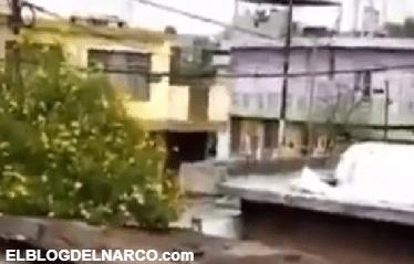 Ya valió ver..ga este pedo, Así se vivió la balacera que se registró en Monterrey, 4 sicarios abatidos. (VÍDEO)
