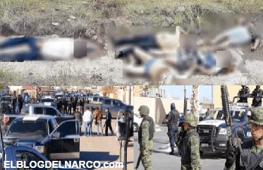Enfrentamiento en Zaragoza fue de 'La Línea' vs el Cártel de Sinaloa