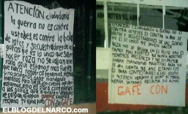 Salgan al topon satanas reclama tu almaDice el Cártel del Noreste en narcomensaje dirigido al Cártel del Golfo en Tamaulipas y San Luis Potosí