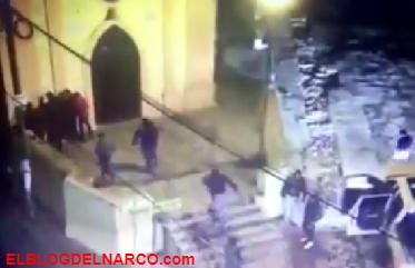 Segundo vídeo de comando de sicarios del CJNG en Naucalpan