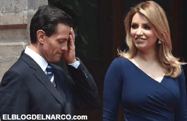 Trasciende información que Peña Nieto y Angélica Rivera se divorcian al terminar el sexenio de Peña