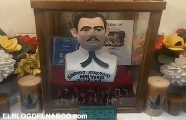 Vídeo de la excentricidad del narco en el Museo del Enervante