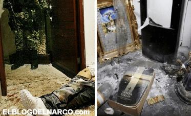 Arturo Beltrán Leyva, imágenes de una brutal cacería teñida de fe y sangre...
